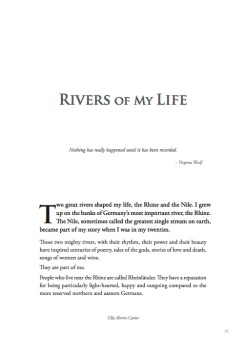 Rivers of my Life introduction