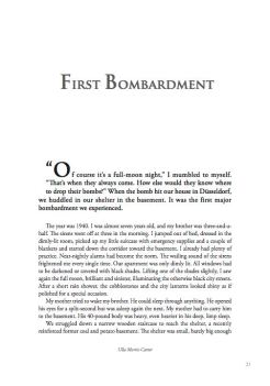 First Bombardment