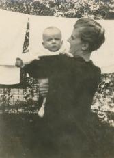 Joe Jr with Grandma Pooler