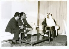 Audience with King Saud