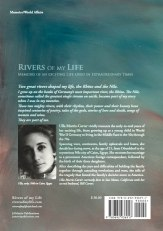 Rivers of My Life Back Cover of Ulla Morris-Carter's Memoirs.